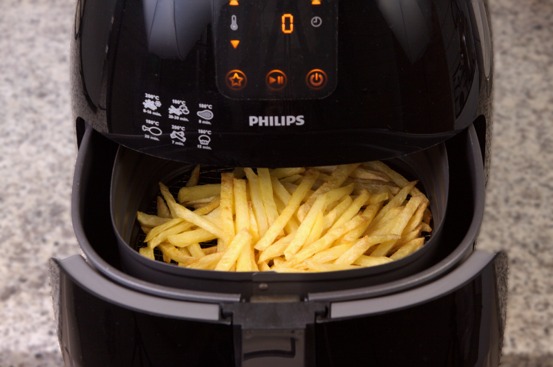 French Fries Cooked in an Airfryer